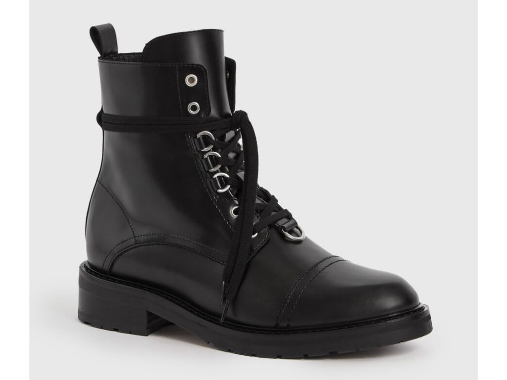 botas color negro all saint lira